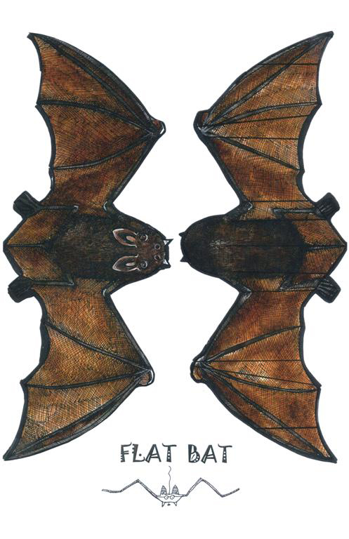 Click Here For A Quick And Easy Paper Craft To Turn Your Ceiling Or Wall From Drab Into Fab Our Flat Bat Will Look Amazing Flying Swarming Across Any
